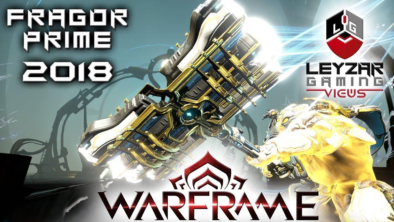 Warframe Fragor Prime Build