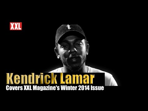 Kendrick Lamar Covers XXL Magazine's Winter 2014 Issue