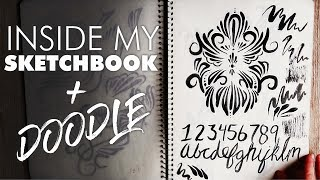 Full Sketchbook Flip-Through + DOODLE