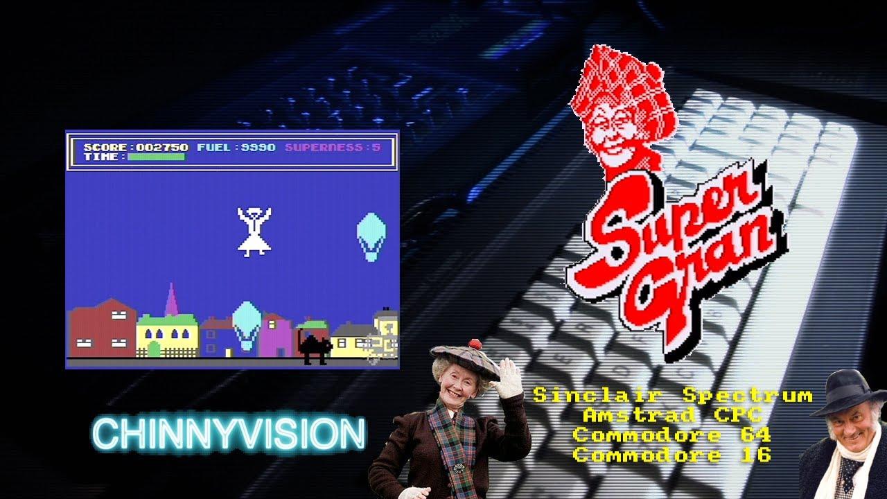 ChinnyVision - Ep 353 - Super Gran - Spectrum, Amstrad CPC, Commodore 64, Commodore 16