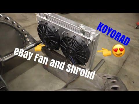 How Bad Are Ebay Electric Fans? Koyo Radiator And Ebay Electric Fan Setup