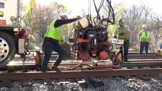 Flash Butt Welding Rail Ends