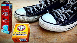 AMAZING!! HOW TO WHITEN / UN-YELLOW SHOE MIDSOLES HACK!! with simple household items!!