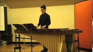 Chen Yi: Jing Marimba for solo marimba performed by Wei-Chen Lin