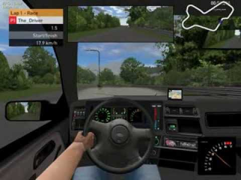 racer free car simulator pc game gameplay ford sierra. Black Bedroom Furniture Sets. Home Design Ideas