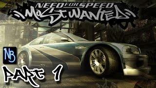 Need For Speed Most Wanted Walkthrough Part 1 No Commentary