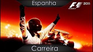 Fórmula 1 2011 - Xbox 360 - Carreira - Espanha - Corrida