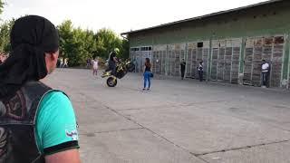 Motorcycle Wheely Fail