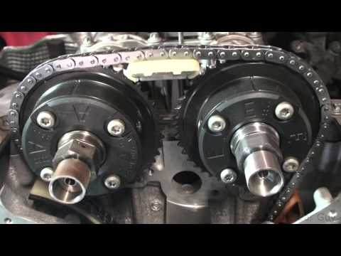 03-05 mercedes c230 1 8 timing marks - YouTube