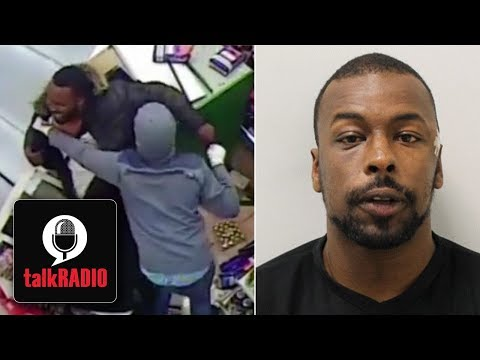 CCTV Footage Of Violent Firearm Exchange