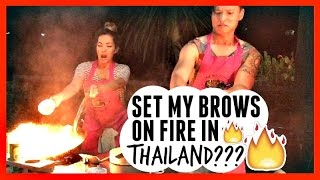 SET MY BROWS ON FIRE???