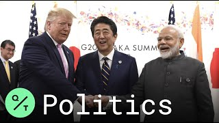 Trump Sees 'Positive' Trade Talks With Abe and Modi at G-20 Summit