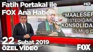 Cumhur adayları birbirlerini yalancılıkla suçladı! 22 Şubat 2019 Fatih Portakal ile FOX Ana Haber