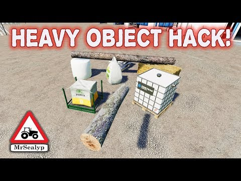 HEAVY OBJECT HACK Farming Simulator 19 PS4 (Tips And Tricks).