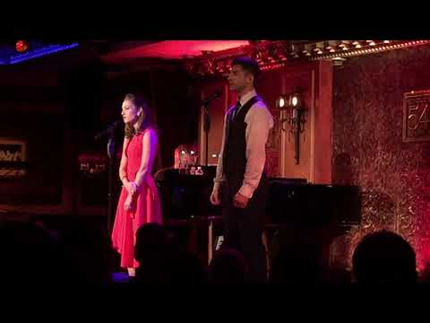 """Laura Osnes & Tony Yazbeck @ Feinstein's 54 Below """"They Can't Take That Away From MeBut Not For Me"""""""