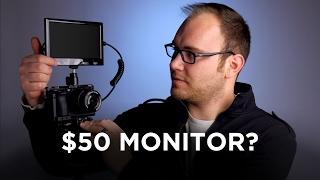 $50 HDMI Camera Monitor