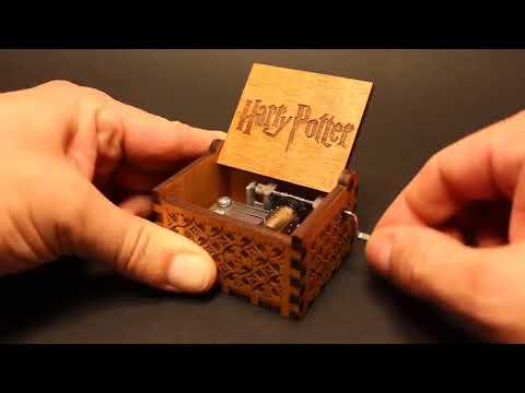 HP Wooden Music Box