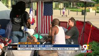 Why don't Cincinnati homeless go to shelters?
