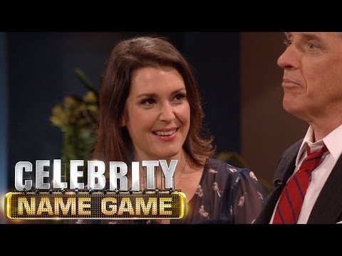 Melanie Lynskey Is Better At Kissing Than Guessing  Celebrity Name Game