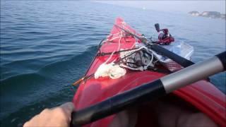 鎌倉カヤック釣りバカ日記(5/20)ー材木座沖で一時間試し釣りでキス3匹...