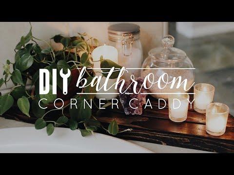 Diy Bathtub Corner Caddy