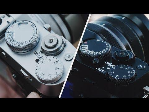 FUJIFILM X100F vs X-E3 — What's the Difference?