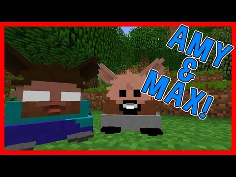 HEROBRINE & NOTCH JOIN MY GAME?!   Amy & Max! Ep.58   Minecraft