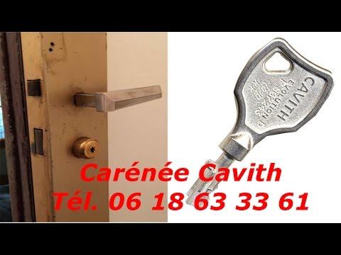 Tutoriel serrure cavith carénée pas cher - cylindre cavith cavers