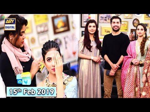 Good Morning Pakistan - Makeup Artist Wajid Khan - 15th Feb 2019 - ARY Digital Show