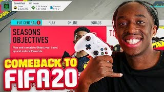 I'M BACK!!! FIFA 20 STARTING MY ULTIMATE TEAM!