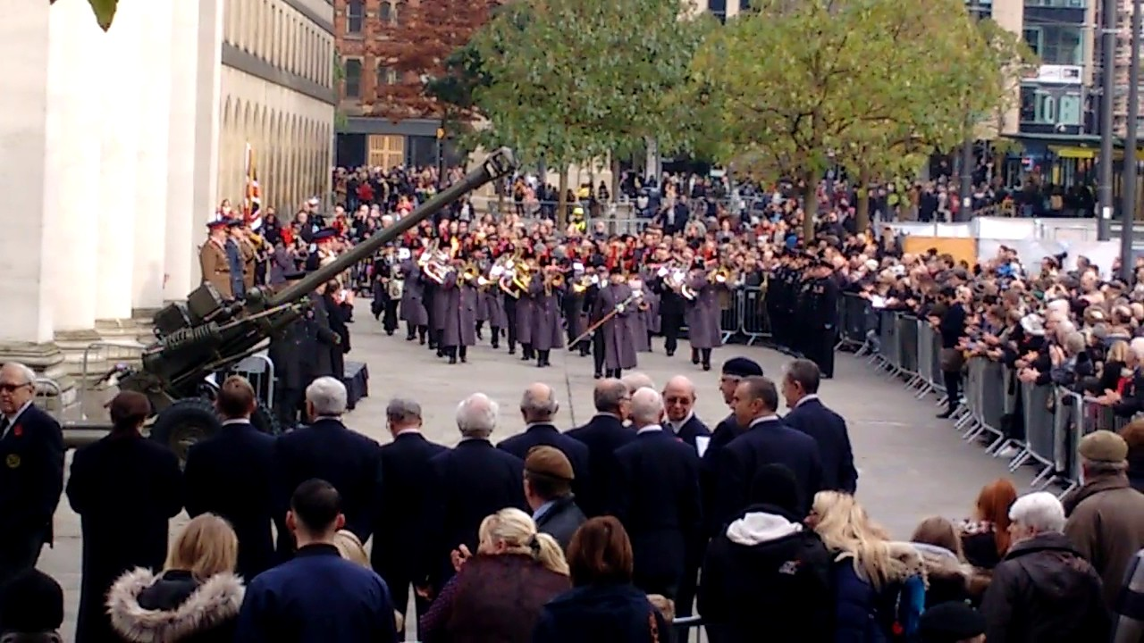 Remembrance Sunday in Manchester