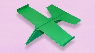 Paper Glider Airplane | Best Paper Airplane Glider Making With Color Paper