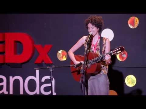 Songs For Luanda: Aline Frazão/Recording Artist at TEDxLuanda 2013