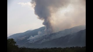 B.C. wildfires approaching Cawston