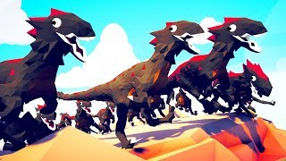 I Fight 1000 Raptors ON TOP OF A MOUNTAIN! - (TABS) Totally Accurate Battle Simulator Video