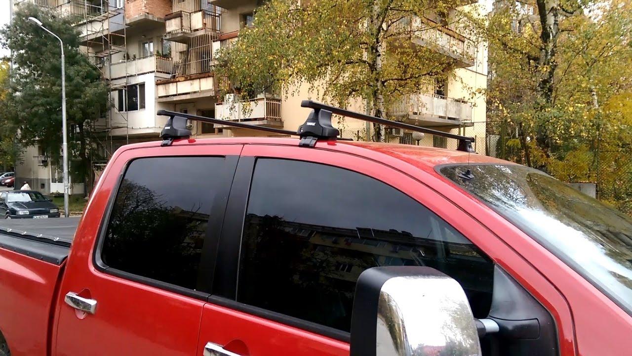 Nissan Titan Thule Roof Rack Youtube