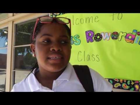 Bunche Elementary School 6th grade class Week 1