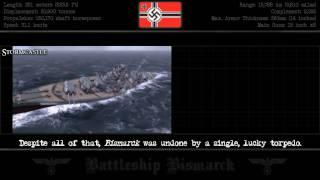 The Battleship Bismarck (720p)