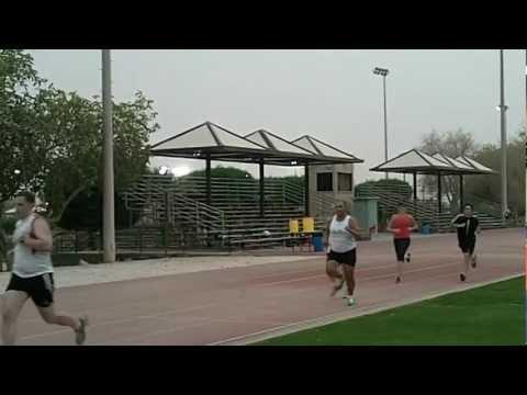 Wellness Running Kosmin 800m/1500m Assesment - May 20 & 22, 2012