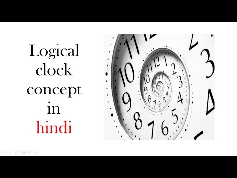 logical clock in distributed system in hindi