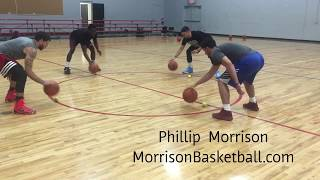 College Ball Handling Session