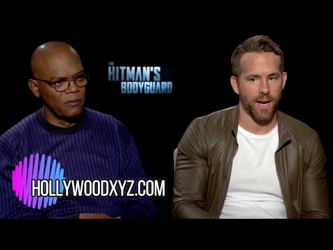 The Hitman's BodyGuard Ryan Reynolds, Samuel L Jackson Full Interview