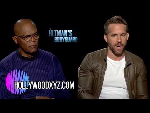 The Hitman's BodyGuard Ryan Reynolds, Samuel L Jackson Full Interview
