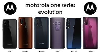 Evolution Of Motorola One