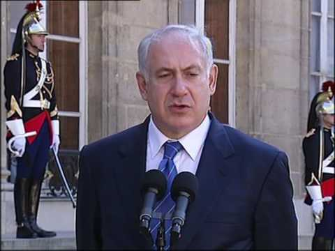 Benjamin Netanyahu Reçu Par Nicolas Sarkozy à L'Elysée