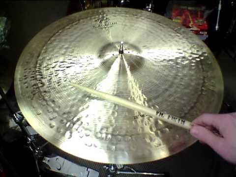 "*SOLD*Zildjian K Constantinople Medium Ride Cymbal 22"" - 2636 grams"