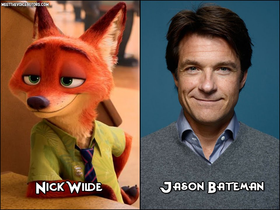 Zootopia Characters And Voice Actors