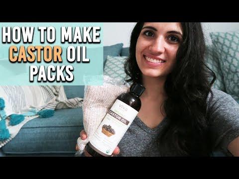 HOW TO EASILY MAKE CASTOR OIL PACKS