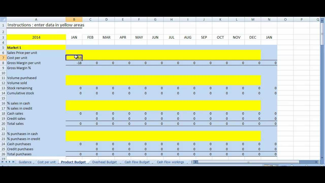 Business plan excel template youtube wajeb Images