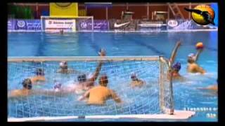 Serbia 10 Spain 10 (14-12 pty) World League 2011 19.4.11 water polo